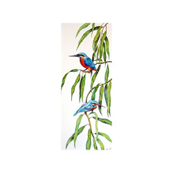 Kingfishers on Willow