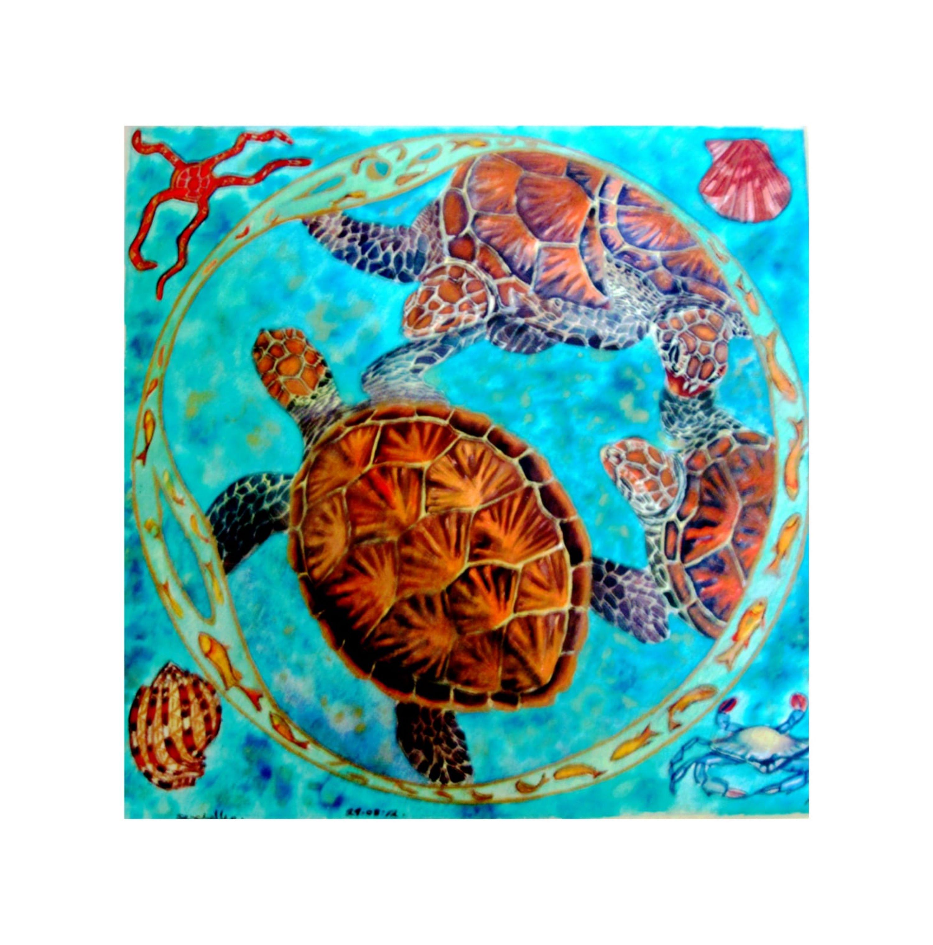 Circling Turtles