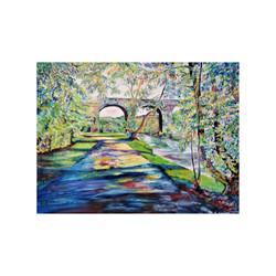 Viaduct ,River Goyt, New Mills, Der