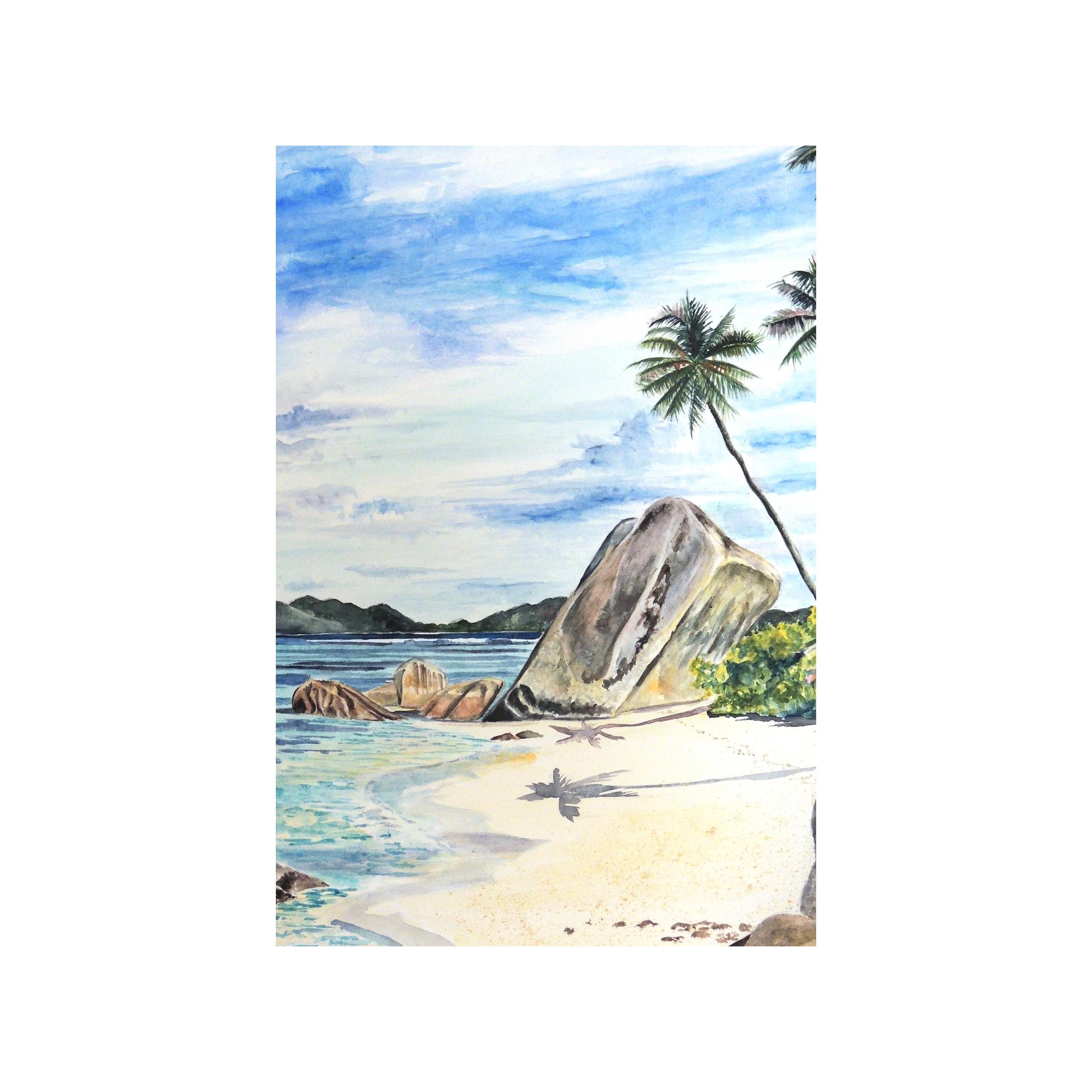 Source d'Argent, La Digue, Seychelles