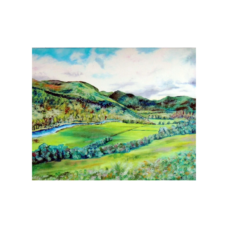 Verdant Hills, Scotland