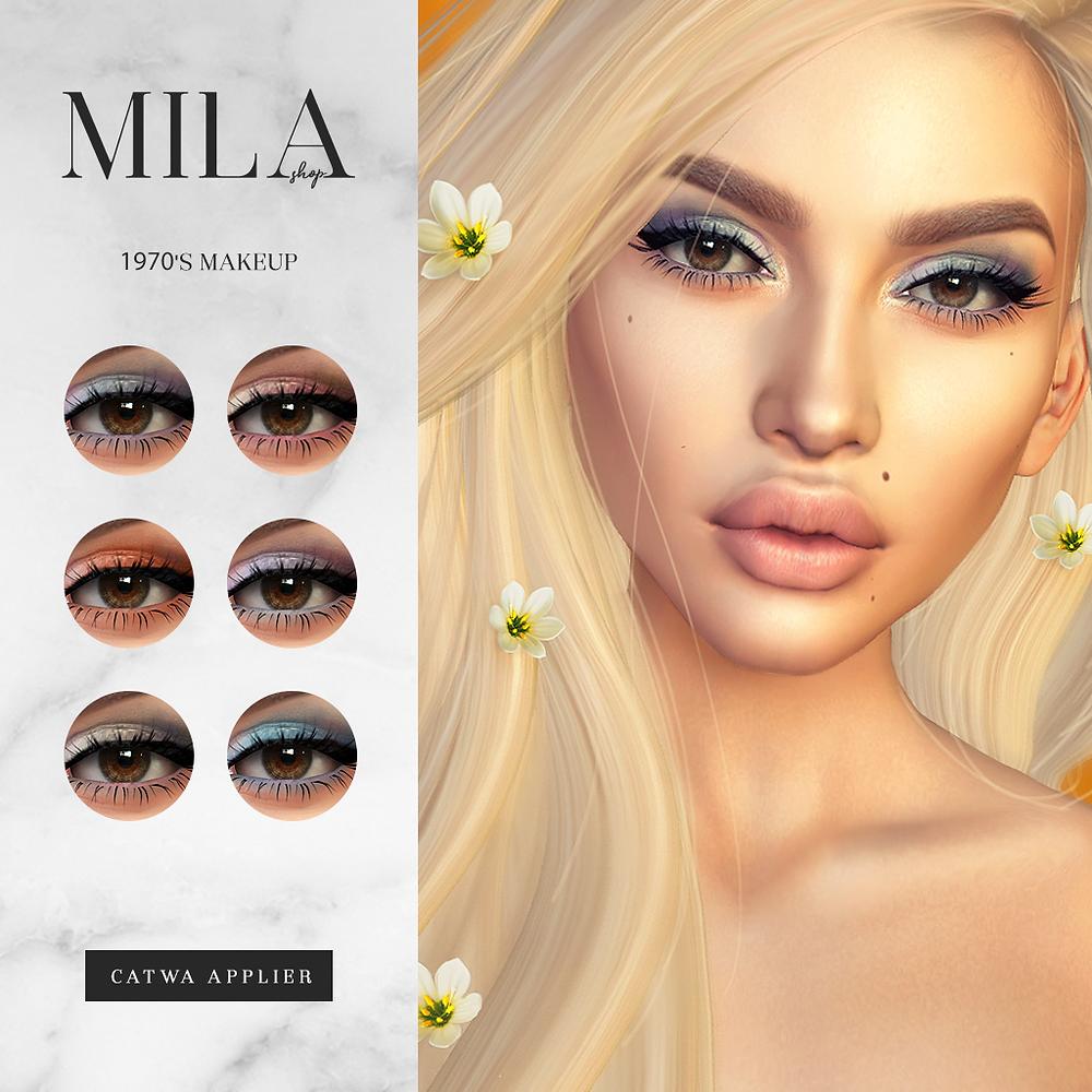 Mila 1970 Makeup