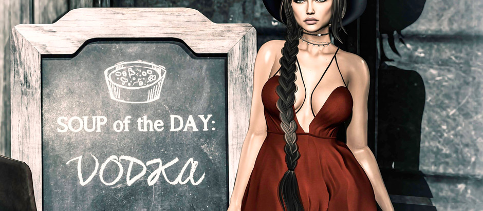 Soup of the day – Vodka!