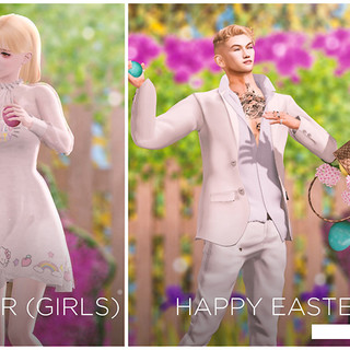 Fanxy - Happy Easter (Girls) Bento Pose