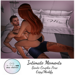 -{ Ma Cherie }-   Intimate Moments [Ad].
