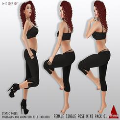 [Ahroun Designs] Single Female Mini Pack