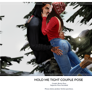 Indigo - Hold Me Tight Couple Pose - Pos