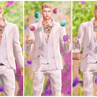 Fanxy - Happy Easter (Male) Bento Poses