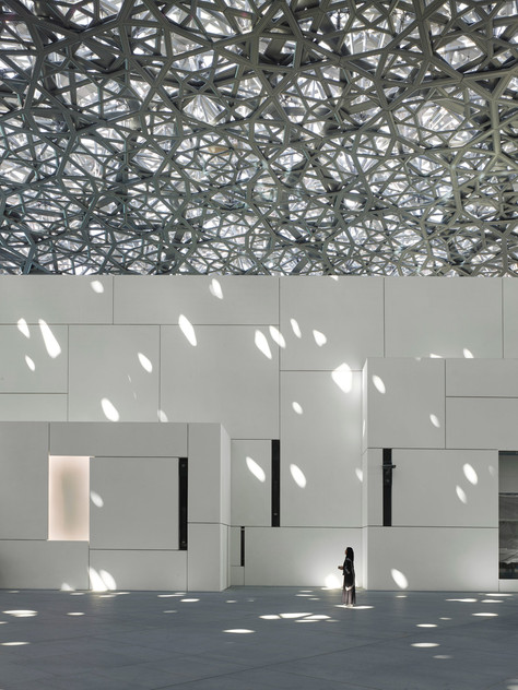 O novo Louvre de Abu Dhabi.