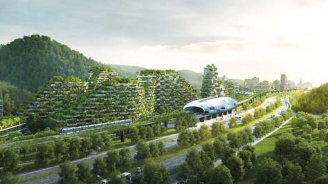 A cidade-floresta de Stefano Boeri.