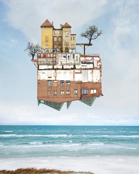 Colagens oníricas de Matthias Jung.