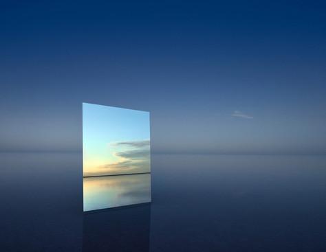 Saltscapes: os espelhos do céu.