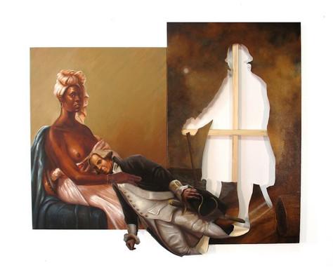Uma história reescrita na pintura.