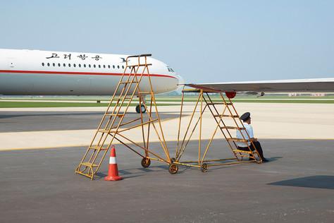 Coreia do Norte no ar! Um ensaio.