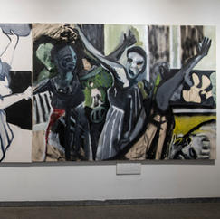 Bacchanal solo show, Maya Gallery, Tel Aviv, July 2021