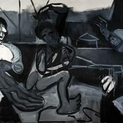 Bacchanal 2, oil on canvas, 150x215 cm, 2020