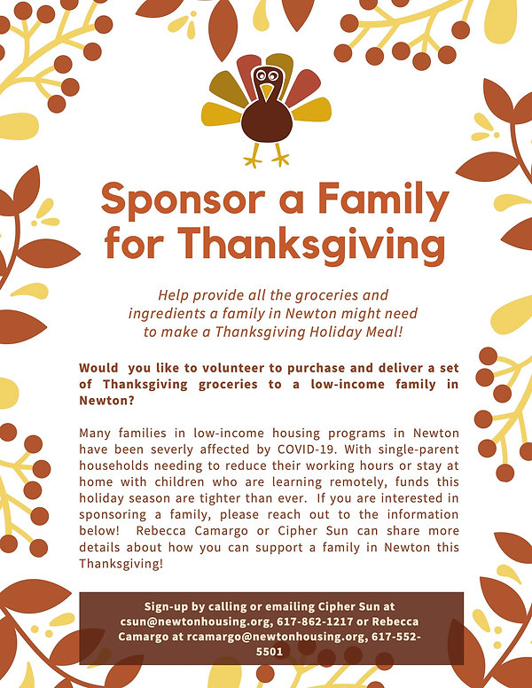 Thanksgiving Meal Kits_Volunteer Flyer J