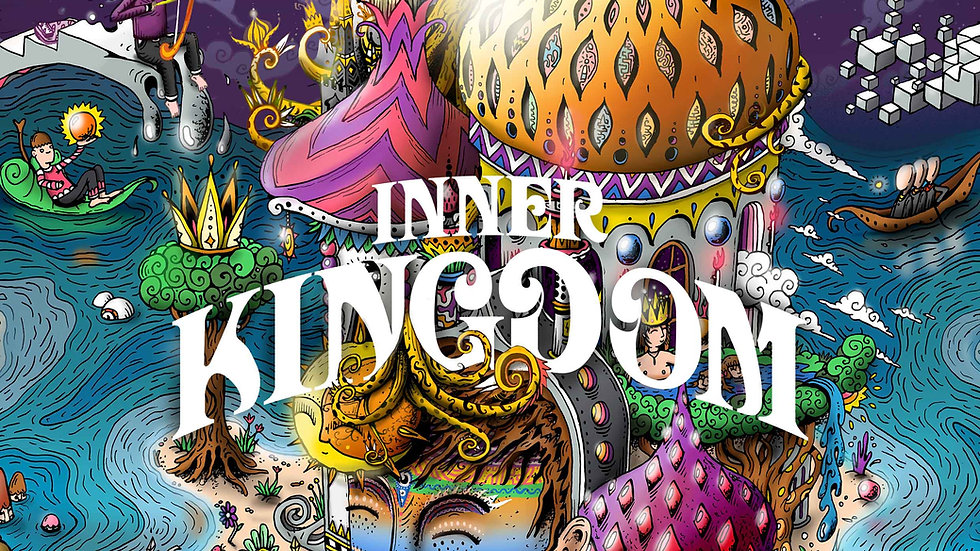 Ruben Topia - Inner Kingdom book