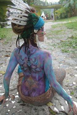 freq1320 /body art / Xilitla