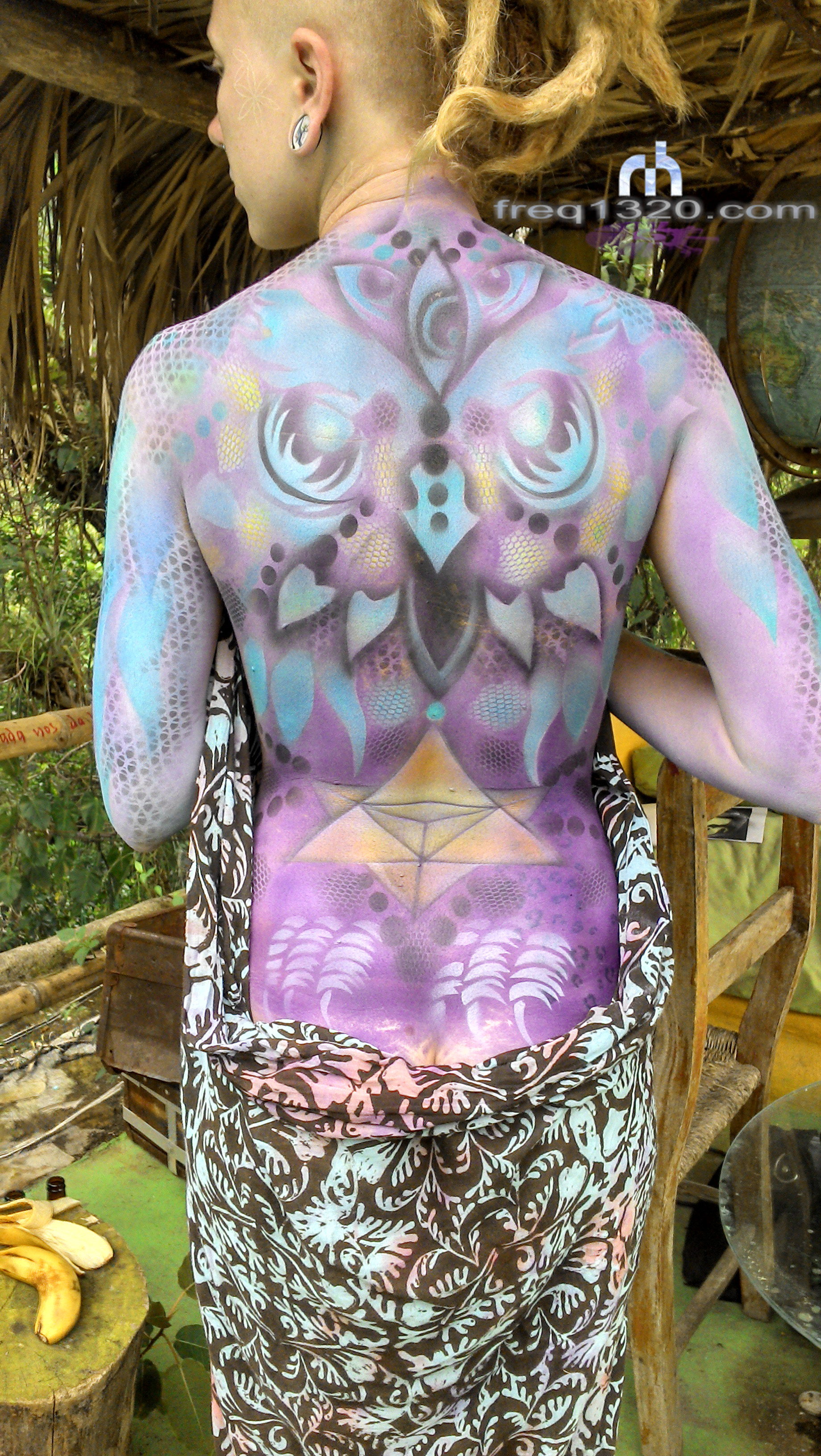 freq1320 / body art / Xilitla