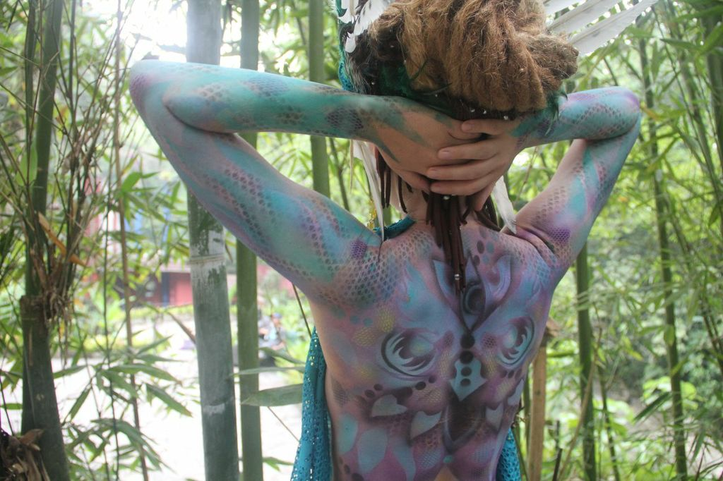 freq1320 /body art / Xilitla