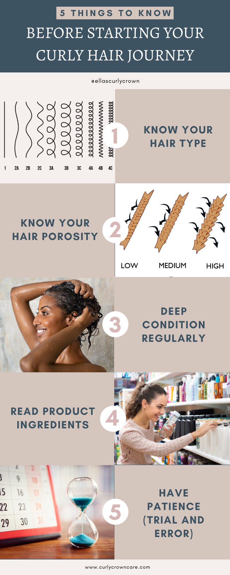 Beginner Guide to Curly Hair