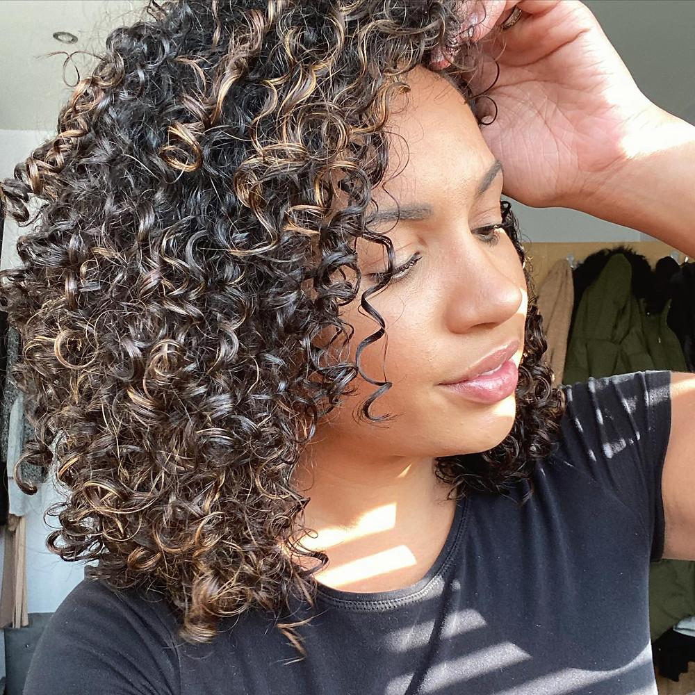 High Porosity Dense Natural Hair