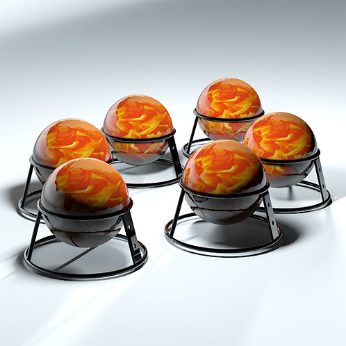 ANTI FIRE BALL, fa.fb,- Set with 20 pce. incl. shipping