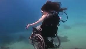 Οι άνθρωποι που βρίσκονται σε αναπηρικό αμαξίδιο μπορούν να κάνουν καταδύσεις!