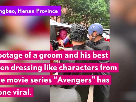 Γάμος αλά Avengers!