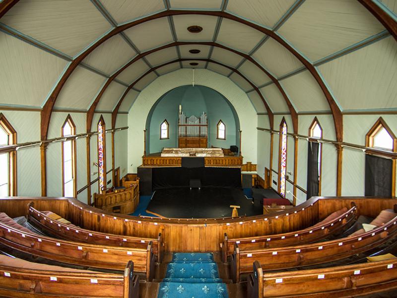 Old St John's Church Upper Seating