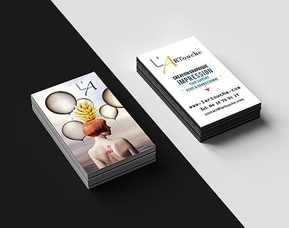 cartes de visite impression de luxe