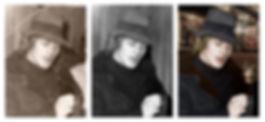 restauration et trucage photo noir et blanc