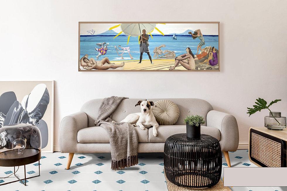 Art mural panoramique