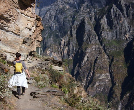 Mike's Great Escape at the Tiger Leaping Gorge