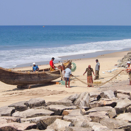 The Fishermen of Varkala