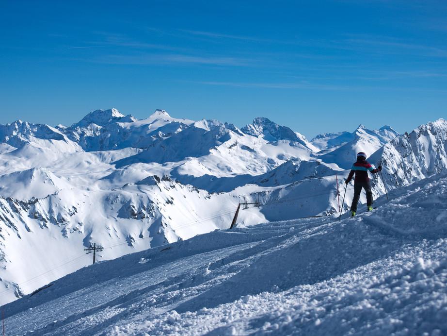 booking.com | ski resort photography