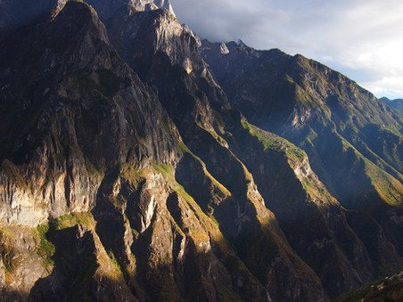 tiger leaping gorge | china