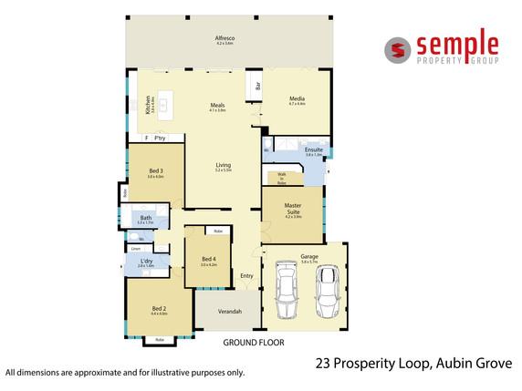 Floor Plan - 23 Prosperity Loop, Aubin G