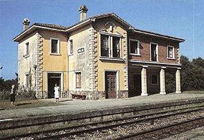La Estación de Tren de Novellana en 1987