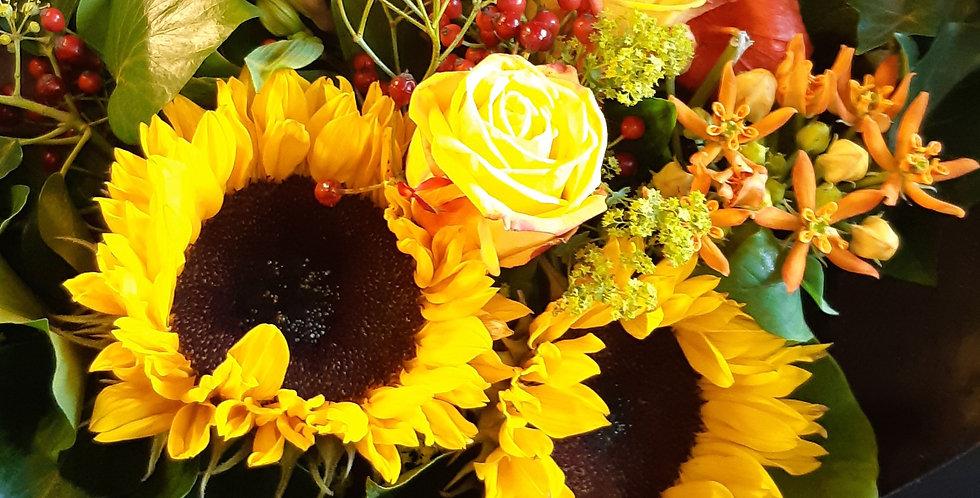 Bouquet du jour - chaleur et soleils