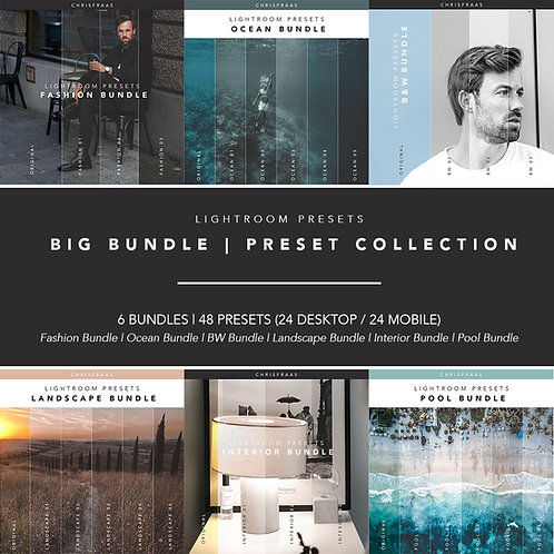 Big Collection Bundle | Presets Digital & Mobile