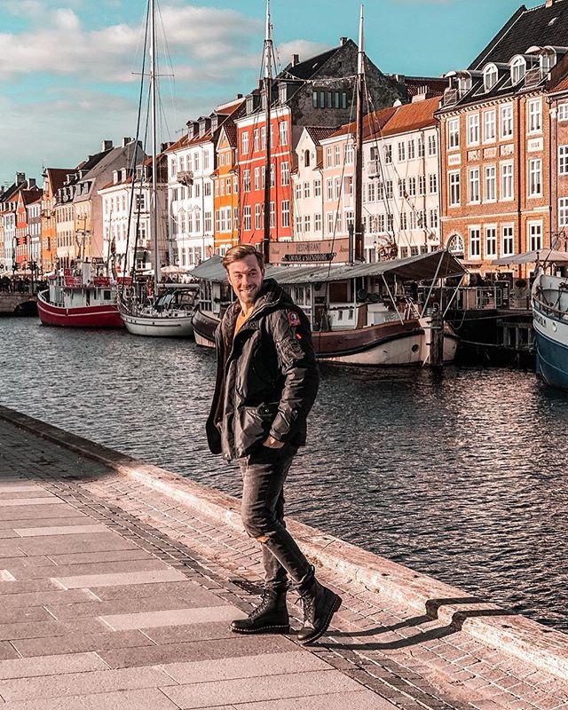 Nyhavn Kopenhagen Dänemark