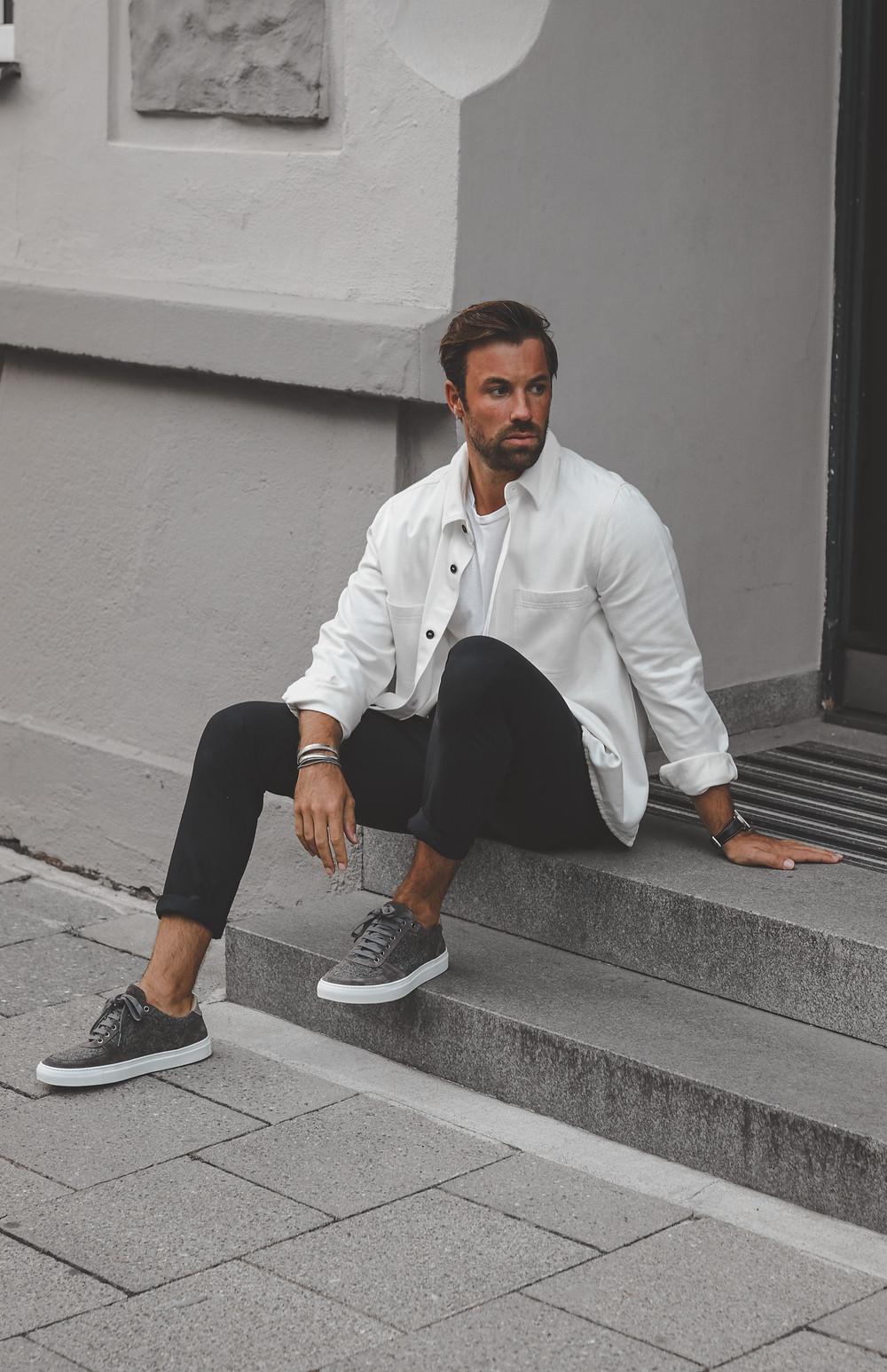 """Sneaker """"Felix"""" von Chris Fraas in Kooperation mit Monaco Duck"""