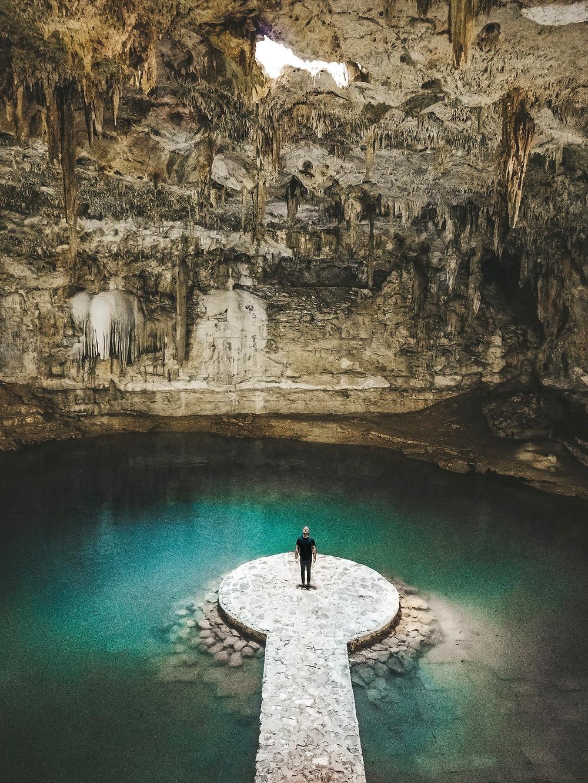 Cenote Suytun, Valladolid, Mexiko