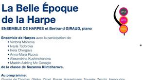 LA BELLE EPOQUE DE LA HARPE / CONCERT