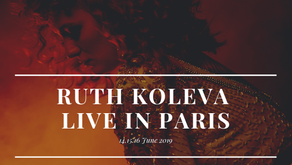 RUTH KOLEVA / CONCERT IN PARIS