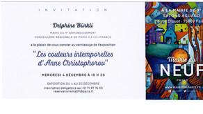 LES COULEURS INTEMPORELLES d'ANNE CHRISTOPHOROV