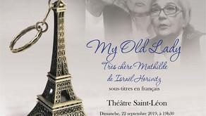 MA CHÈRE LADY / Pièce de théâtre