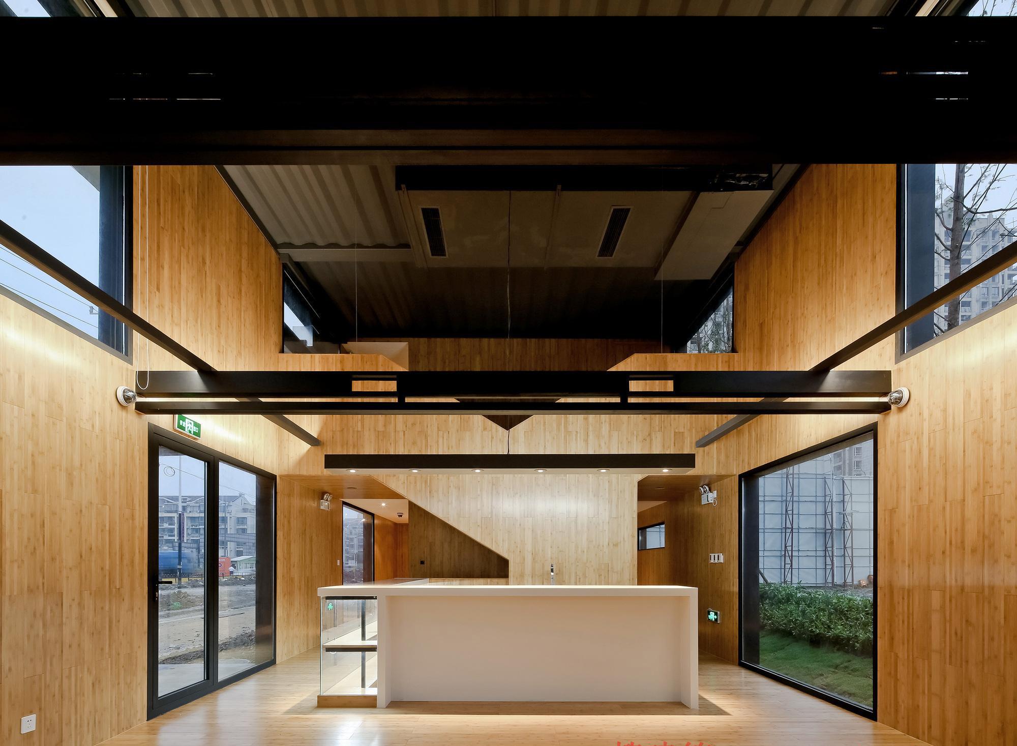 Büroflächen und Show rooms